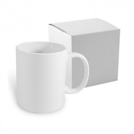 Mug blanc JS Coating 300 ml avec boîte Sublimation Transfert Thermique