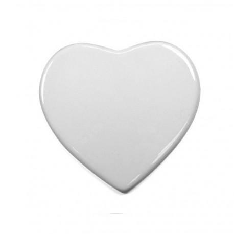 Coeur 15 cm en céramique personnalisable