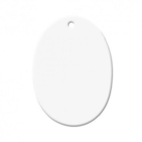Ornement ovale en céramique Sublimation