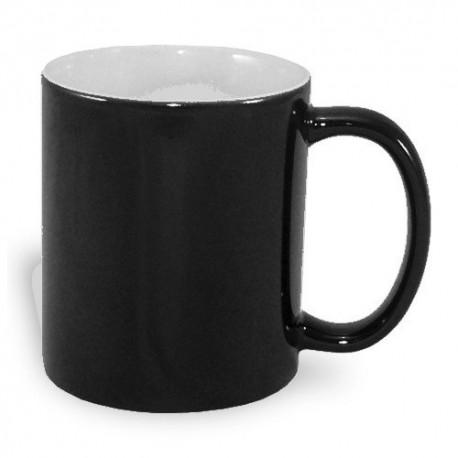 Mug magique A+ 330 ml noir demi mat à imprimer