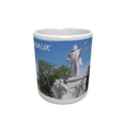 Mug blanc classe A+ 330 ml avec boîte Ville de Carmaux