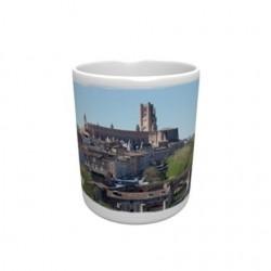 Mug blanc classe A+ 330 ml avec boîte ville d'ALBI