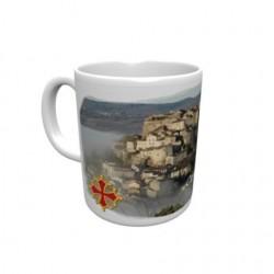 Mug blanc classe A+ 330 ml avec boîte Cordes sur Ciel