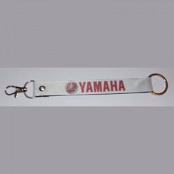 YAMAHA Porte-clés en polyester blanc