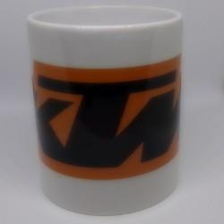 Mug KTM blanc classe AA 325 ml avec boîte