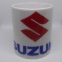 Mug SUZUKI blanc classe AA 325 ml avec boîte