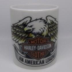 Mug HARLEY DAVIDSON AIGLE blanc classe AA 325 ml avec boîte