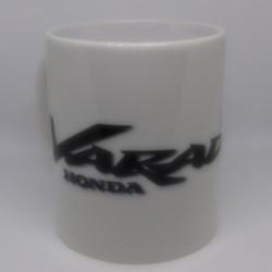 Mug HONDA VARADERO blanc classe AA 325 ml avec boîte