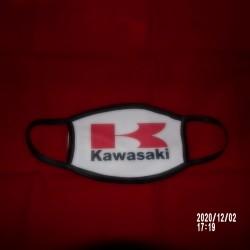 KAWASAKI Ensemble Masque facial PM 2.5 bord noir
